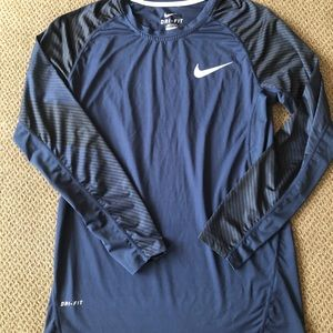 Men's Nike Dri-fit Fitted Shirt Size M